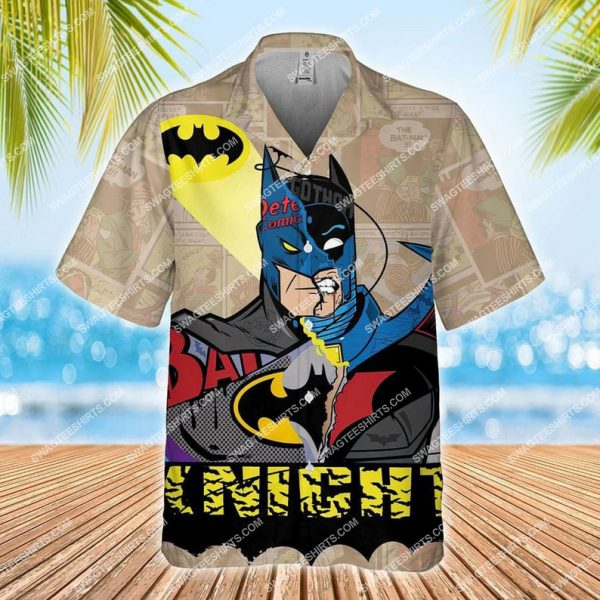 [Top-selling] The dark knight batman dc comic hawaiian shirt - maria