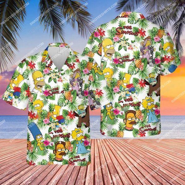 [Top-selling] The simpsons tv show summer vacation hawaiian shirt - maria