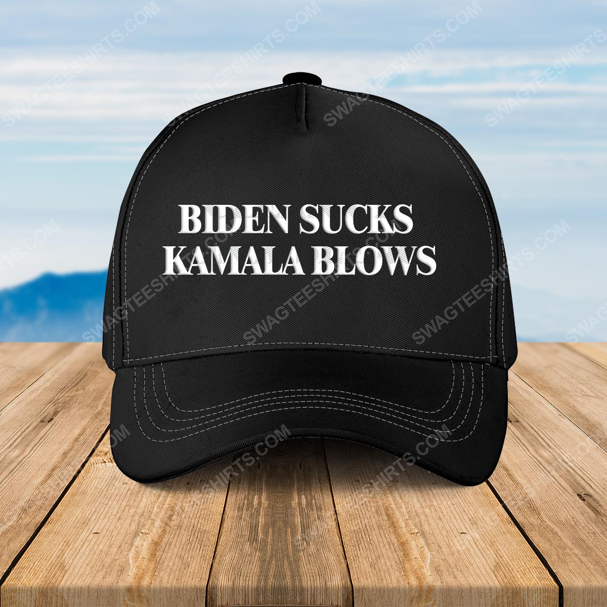 Biden sucks kamala blows full print classic hat