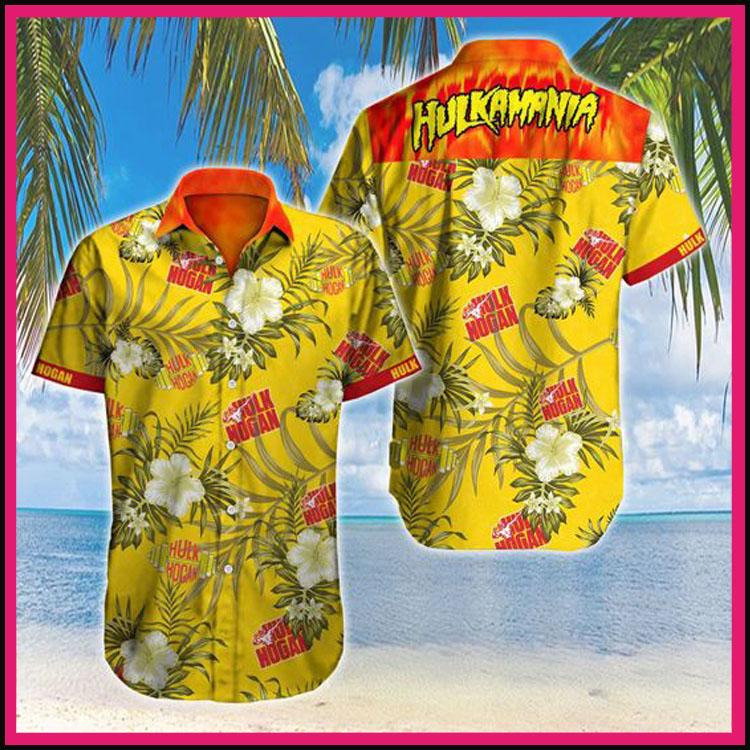 Hulkamania hulk hogan hawaiian shirt3