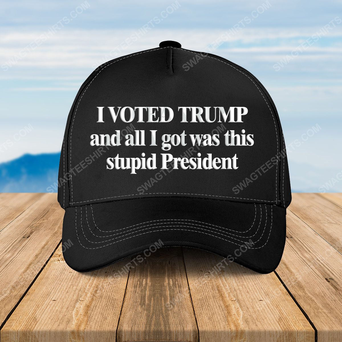 I voted trump and all i got was this stupid president full print classic hat