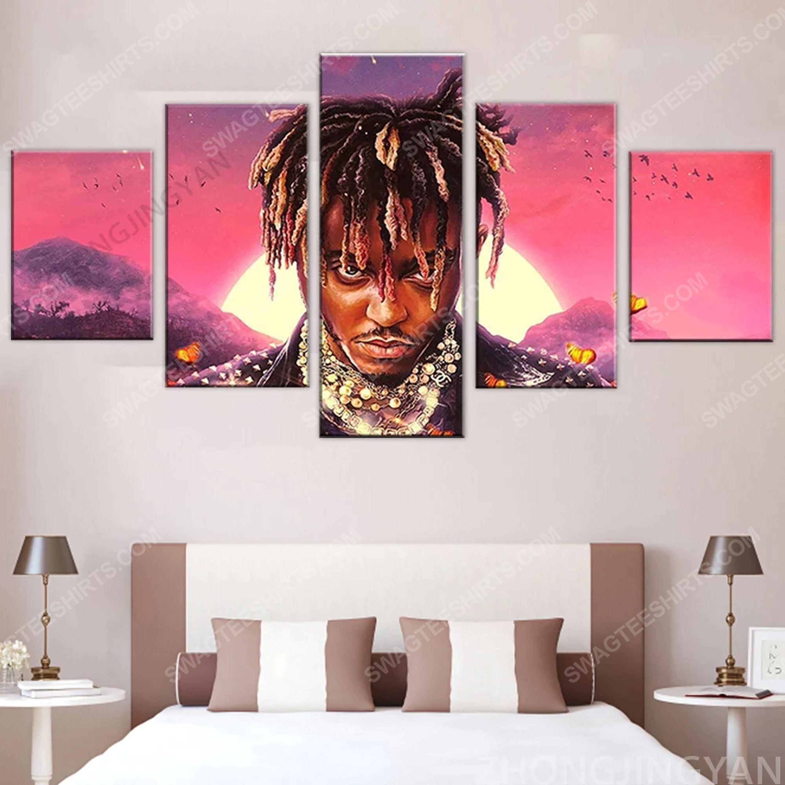 Legends never die juice wrld canvas wall art home decor
