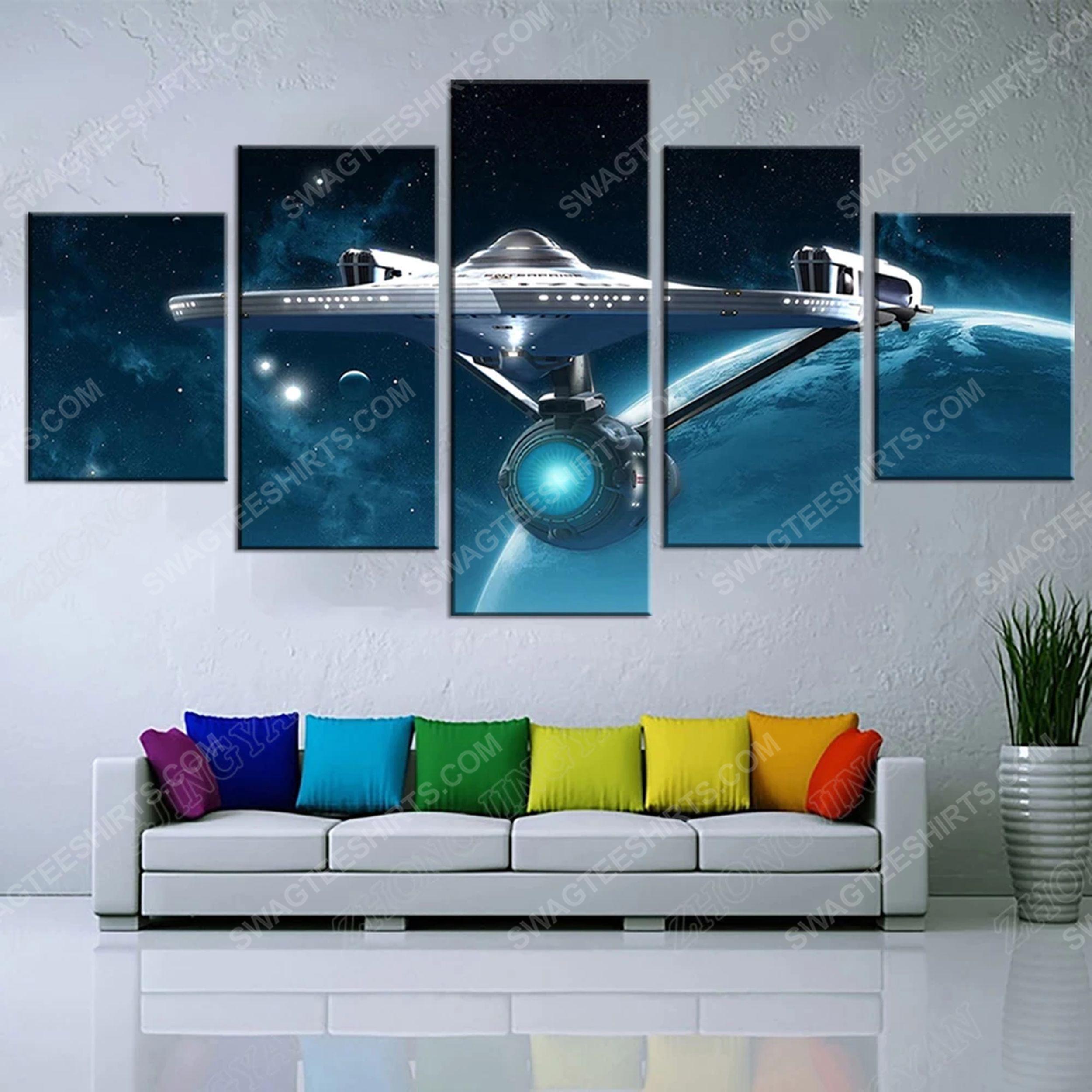 Star trek movie print painting canvas wall art home decor