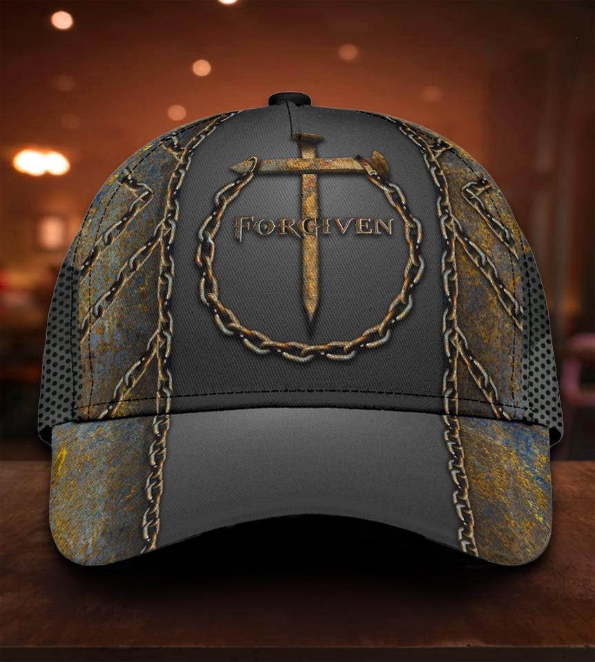 Jesus Forgiven 3D Cap