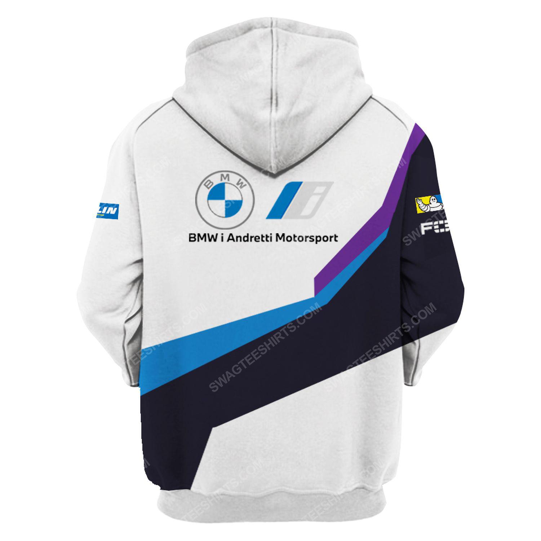 BMW magna steyr racing team motorsport full printing hoodie - back