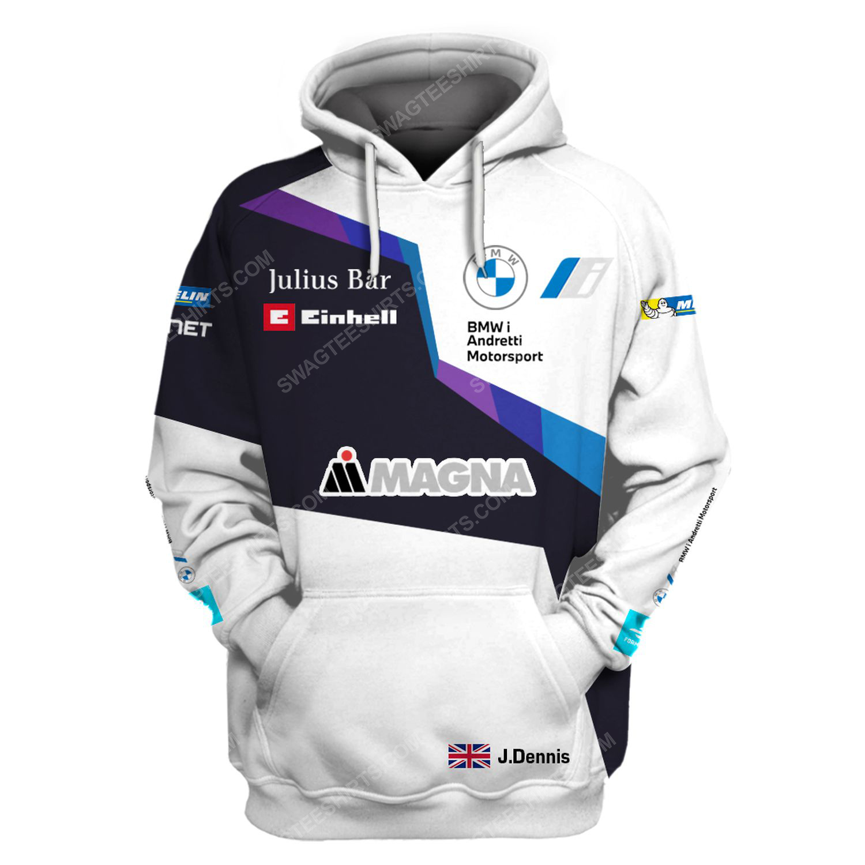 BMW magna steyr racing team motorsport full printing shirt 1