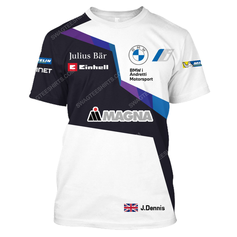 BMW magna steyr racing team motorsport full printing tshirt