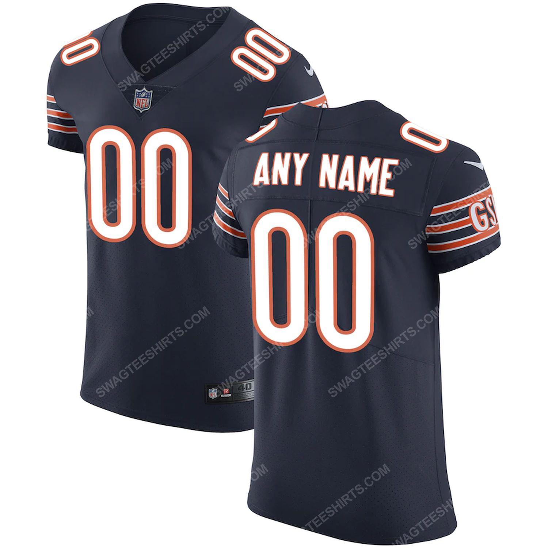 Custom chicago bears football full print football jersey