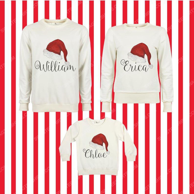 Custom for family merry christmas ugly christmas sweater