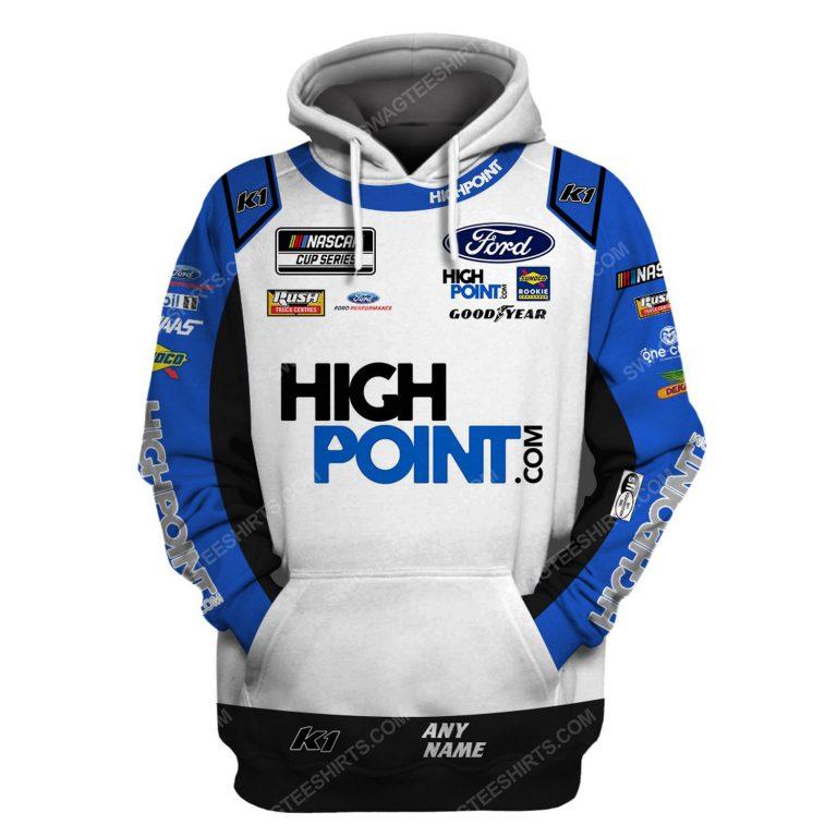 Custom highpoint racing team motorsport full printing shirt 1