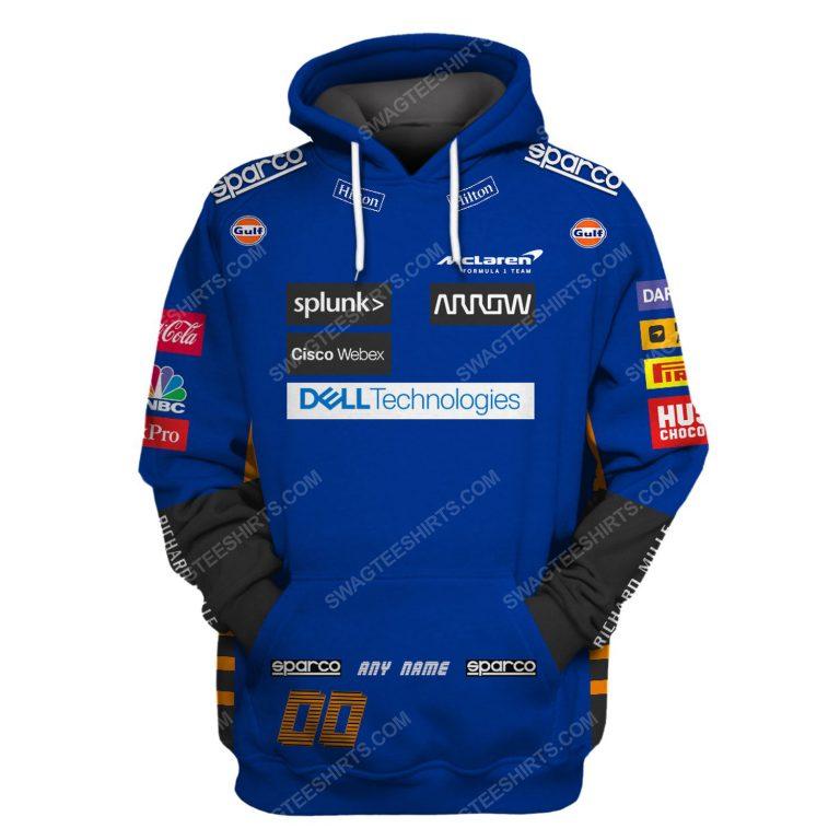 Dell technologies racing team motorsport full printing shirt 1