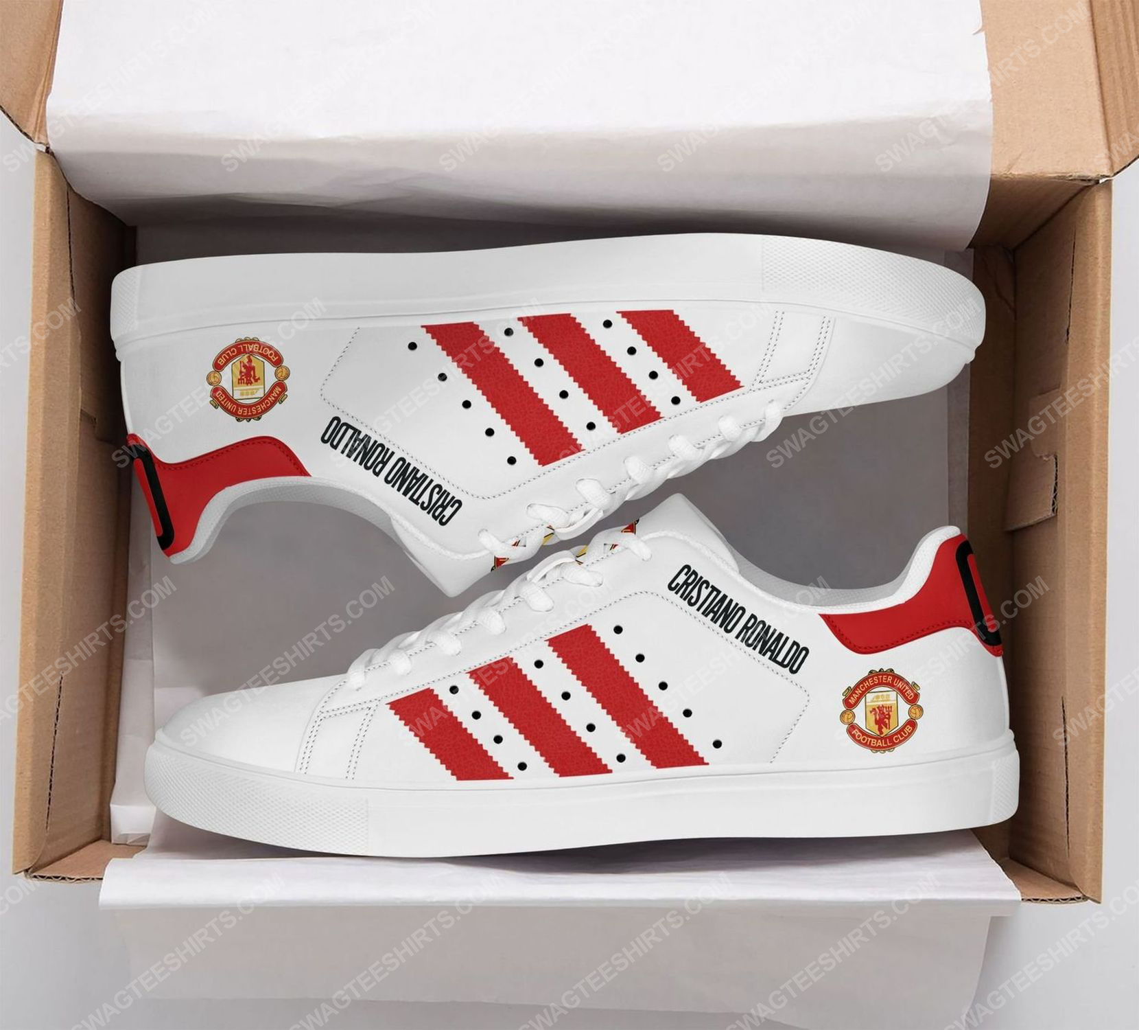 Manchester united cr7 stan smith shoes