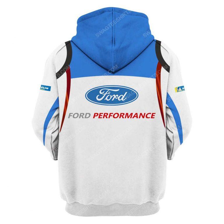 Ford racing tag heuer formula 1 full printing hoodie - back