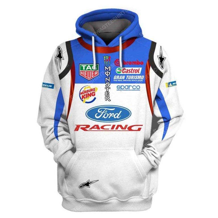 Ford racing tag heuer formula 1 full printing shirt 1