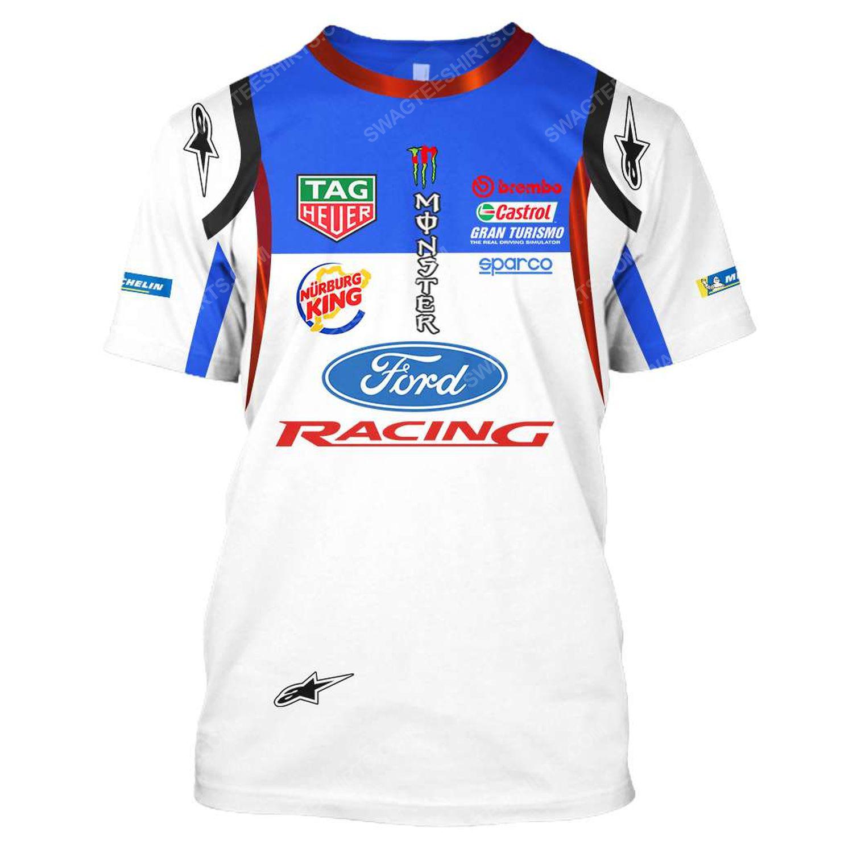 Ford racing tag heuer formula 1 full printing tshirt