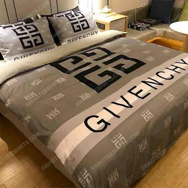 Givenchy monogram symbols full print duvet cover bedding set