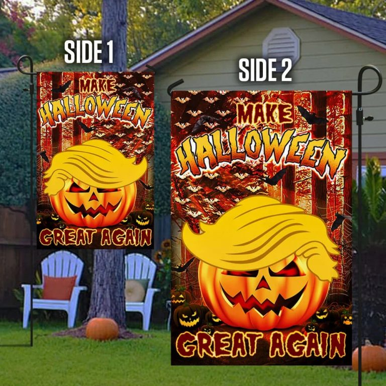 Make halloween great again Trump flag - Picture 1