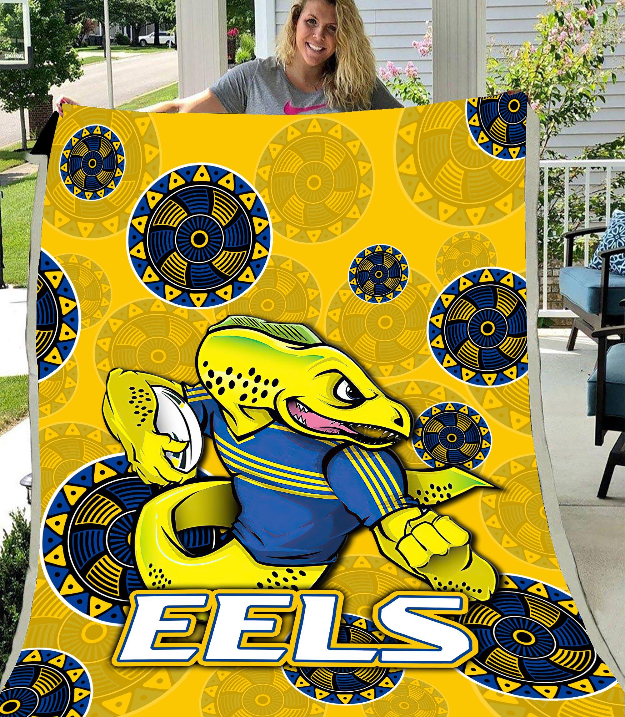 Parramatta Eels NRL Premium Blanket