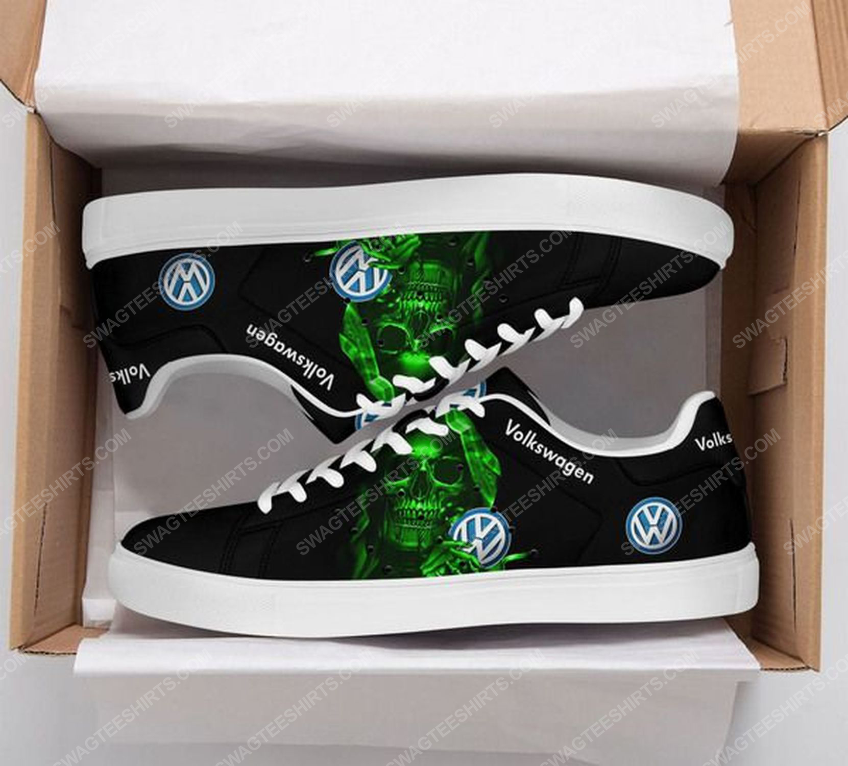 Volkswagen and skull stan smith shoes