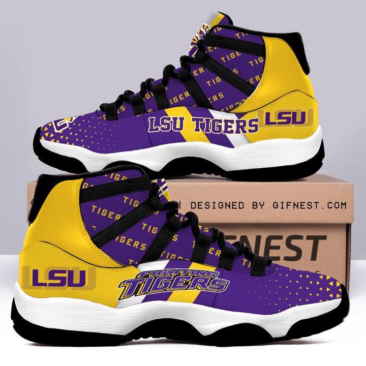 LSU Tigers Air Jordan JD11 Shoes Sneaker