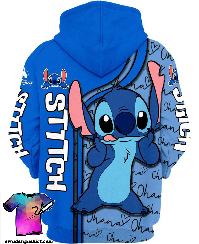 Disney lilo and stitch 3d hoodie