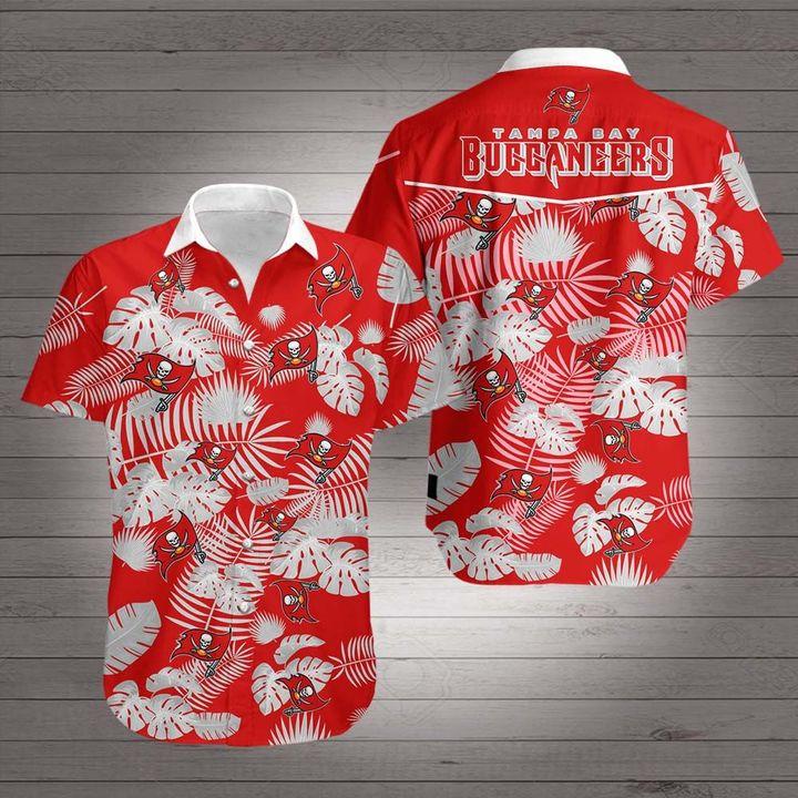 Tampa bay buccaneers hawaiian shirt